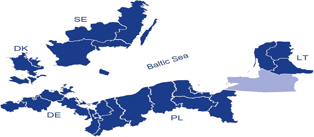 Report on participation of Associated Organisations from Kaliningrad Region in 2007-2013 South Baltic Programme